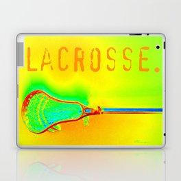 LACROSSE. ORANGE Laptop & iPad Skin