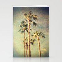 palms Stationery Cards featuring palms by Sylvia Cook Photography