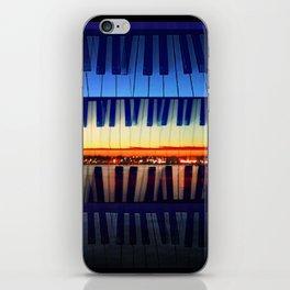 piano3 iPhone Skin