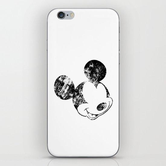 Mickey Grunge iPhone & iPod Skin