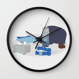 2011: Airport Wall Clock