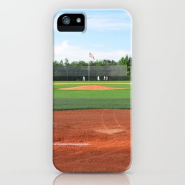 Play Ball! - Home Plate iPhone Case