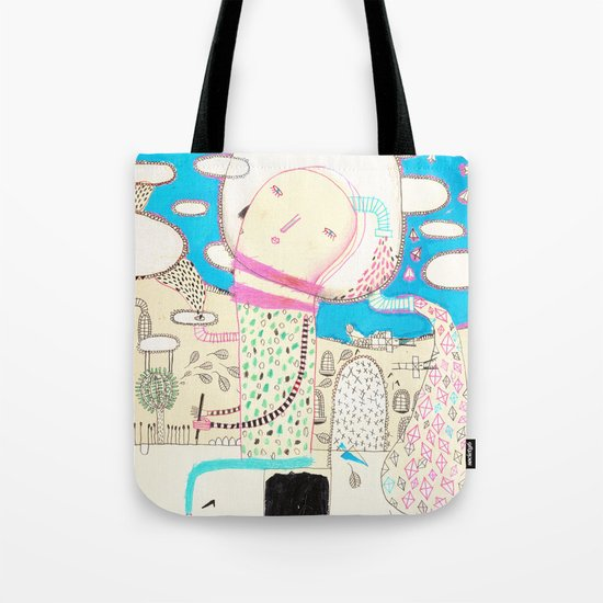 Be led by your dreams Tote Bag