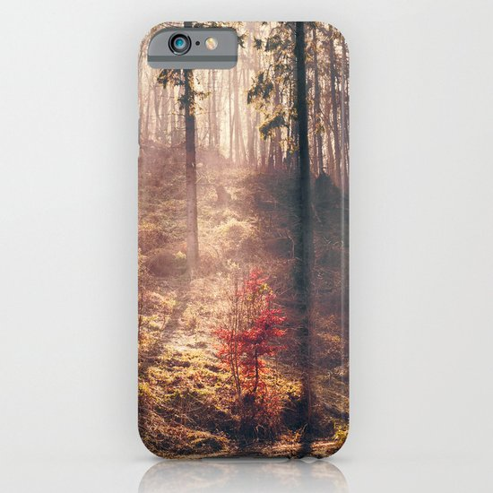 Little Red Tree iPhone & iPod Case