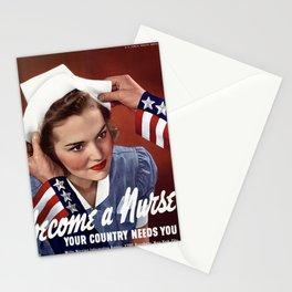 Become a Nurse Stationery Cards