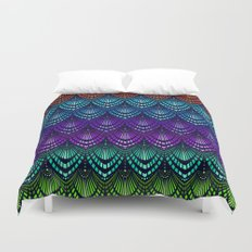 Variations on a Feather I - Deco Style Duvet Cover