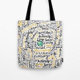 Positive Messages Tote Bag