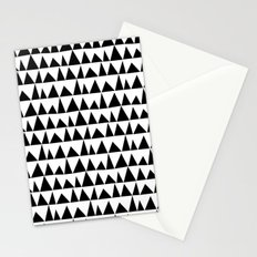 Playful triangles Stationery Cards