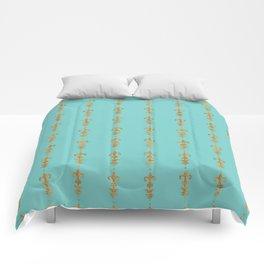 Edwardian Duck egg Comforters