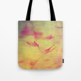 Liquids Go Abstract Tote Bag