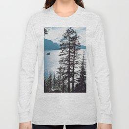 Mountain Lake Retreat Long Sleeve T-shirt
