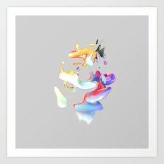 ACRYLIC III Art Print