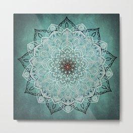 Mystic Mandala Metal Print