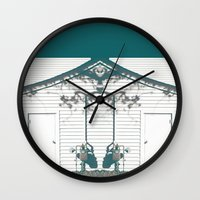 rorschach Wall Clocks featuring rorschach by made 2 take