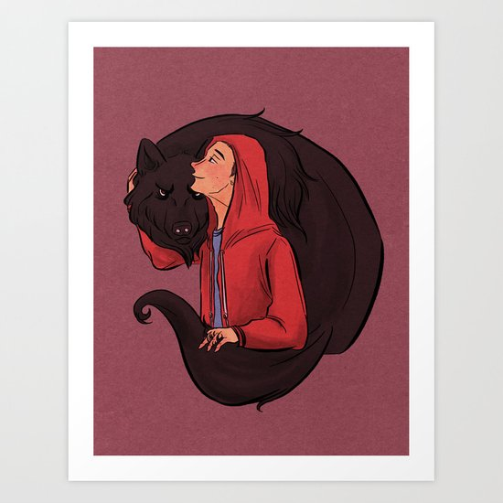 Don't Be Such a Sourwolf Art Print