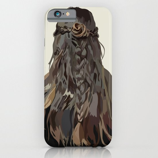 Let Down Your Hair iPhone & iPod Case
