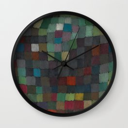 May Picture Abstract Wall Clock