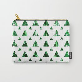 little green trees Carry-All Pouch