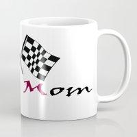 moto Mugs featuring Moto Mom by Risdon & Associates