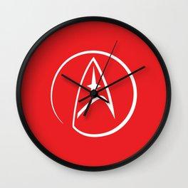 Heathen Trekkie - StarTrek 's Uhura Red Wall Clock
