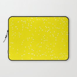 Yellow and White Laptop Sleeve