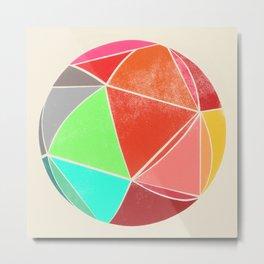 geodesic 2 Metal Print