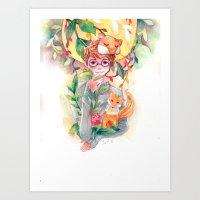 gem Art Prints featuring Gem by Ozora