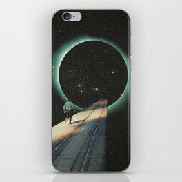 Escaping into the Void iPhone Skin
