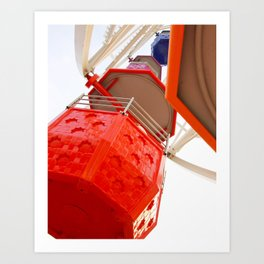 Ferris Wheel Fun Art Print