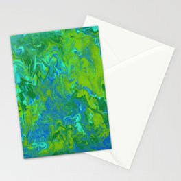 Paint Pouring 36 Stationery Cards