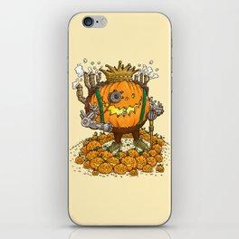 The Steampunk Pumpking iPhone Skin