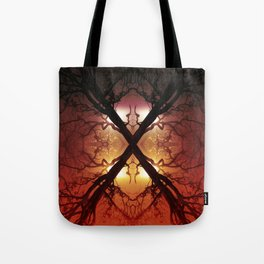 Quad Tree #1 Tote Bag