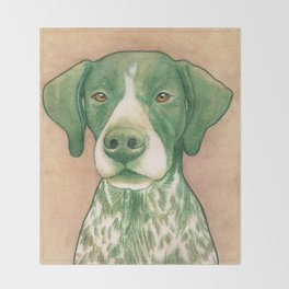 Pointer dog - Jola 02 Throw Blanket