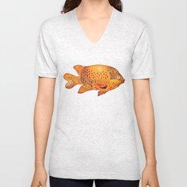 Garibaldi Fish Unisex V-Neck