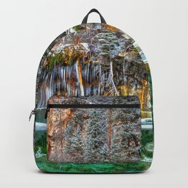 A Serene Chill Hanging Lake Winter Backpack