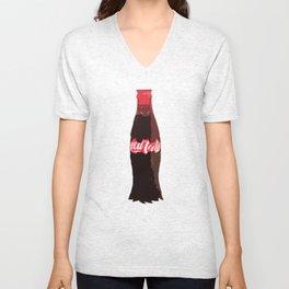 Coke-Man Unisex V-Neck