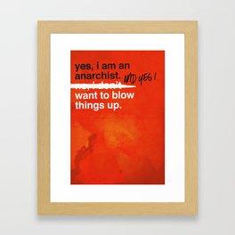 yes i am… Framed Art Print