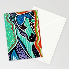 Willy Whippet Greyhound Saluki Italian Pharaoh Silken Manchester Fox Ibizan Designer Dog Puppy Pet Stationery Cards