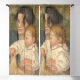 Gabrielle Renard and infant son, Jean Blackout Curtain