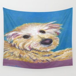 Chance, the Therapy Dog Wall Tapestry