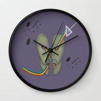 floyd Wall Clocks featuring Pink Floyd by ArtSchool