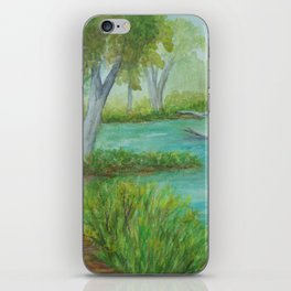 Little Manistee River MM120824a iPhone Skin