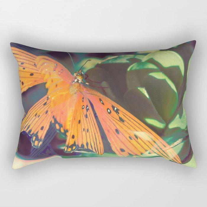 Autumn Spirit Flight Rectangular Pillow