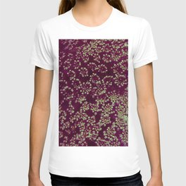 Pink and Green Queen Anne's Lace (Up Close) T-shirt