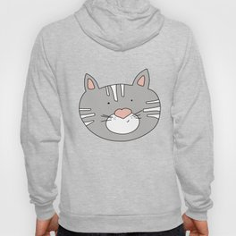 Cat Face Hoody