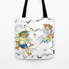 Fujin Raijin Tote Bag