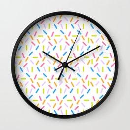 Sprinkles Wall Clock