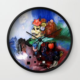 THIS WAS MY LIFE WHEN I WAS REBORN Wall Clock