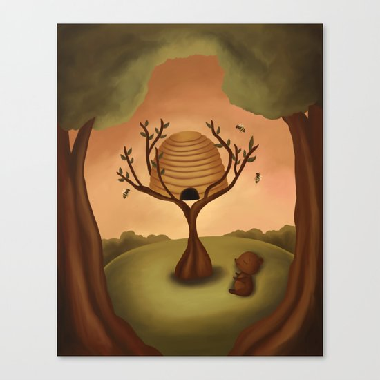 The Beehive Canvas Print