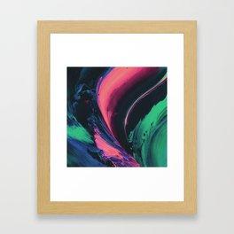 The Running River Framed Art Print